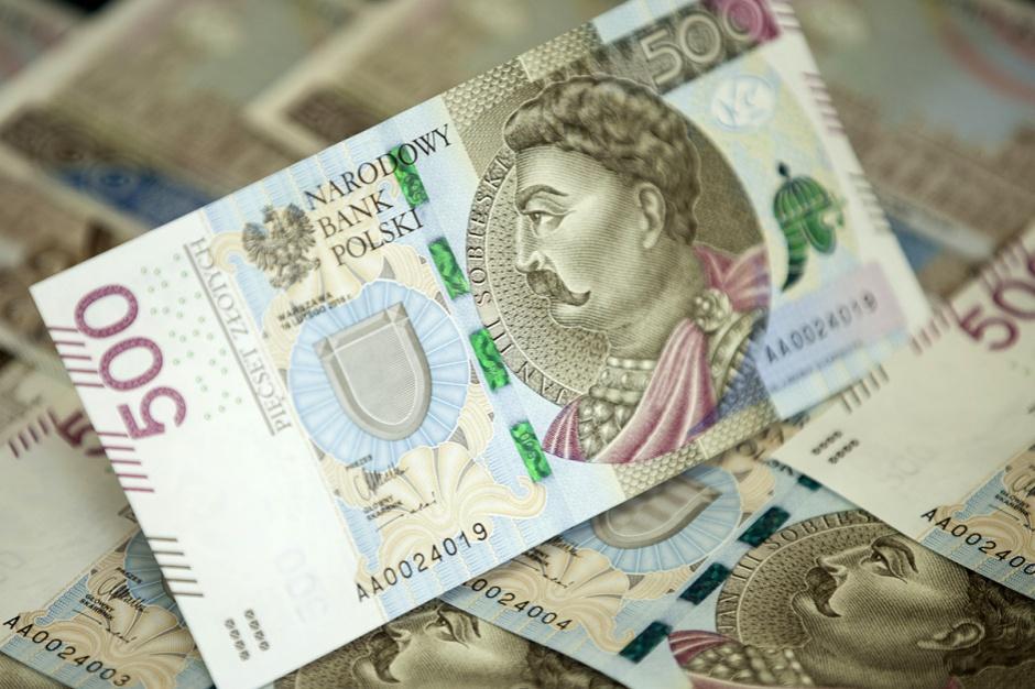 Nowy banknot 500 zł trafił do obiegu