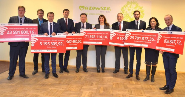 Fundusze unijne na Mazowszu: powstaną nowe ścieżki rowerowe i parkingi