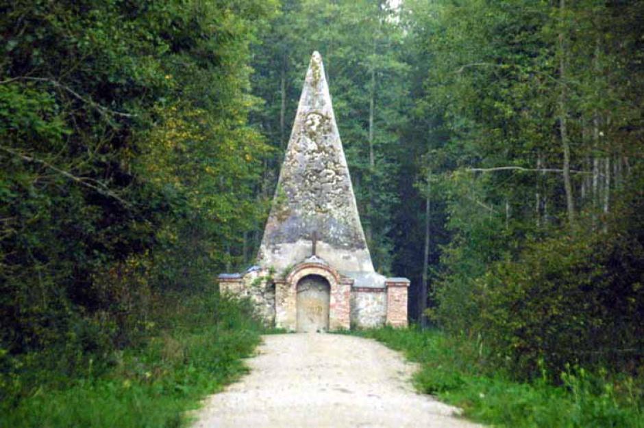 Piramida w Rapie na Mazurach zostanie odrestaurowana