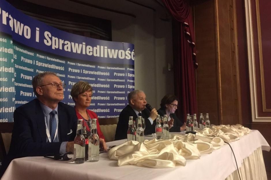 Jarosław Kaczyński: Chcemy uchwalić nową ordynację wyborczą, która utrudni fałszowanie wyborów