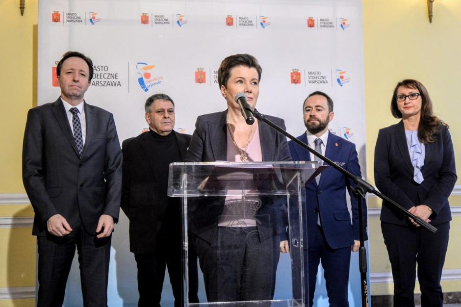 Reprywatyzacja w Warszawie: Hanna Gronkiewicz -Waltz zapowiada kroki prawne