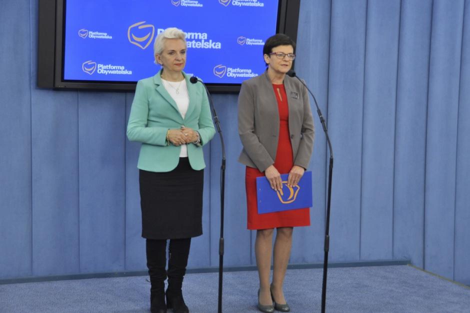 """Podstawa programowa, Krystyna Szumilas, PO: Uczeń """"wymienia"""" i """"opisuje"""" to bierność, a nie nauczanie"""