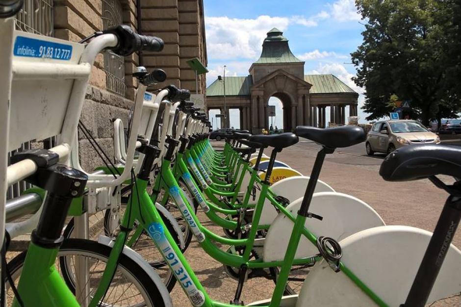 Rowery miejskie w Szczecinie: Nowe stacje w ramach budżetu obywatelskiego