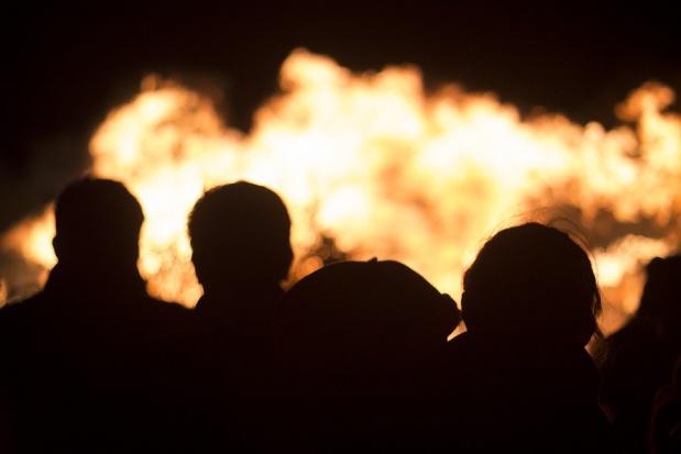 Pożar składowiska odpadów w Brożku. Policja prowadzi dochodzenie