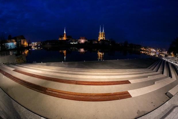 Rewitalizacja bulwaru Xawerego Dunikowskiego we Wrocławiu nominowana w kategorii Przestrzeń publiczna (fot.wroclaw.opl)