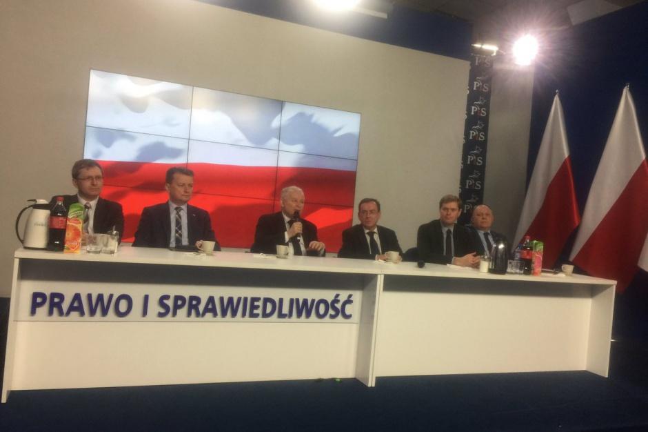 Jarosław Kaczyński: Projekt warszawskiej ustawy metropolitalnej ulegnie zmianie