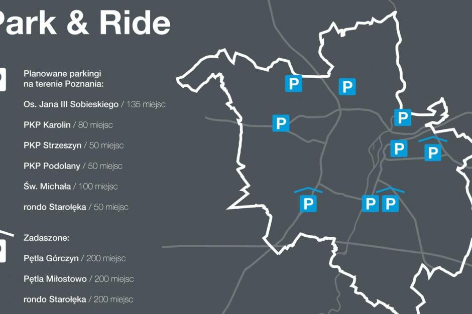 W Poznaniu powstaje pierwszy parking typu Park&Ride