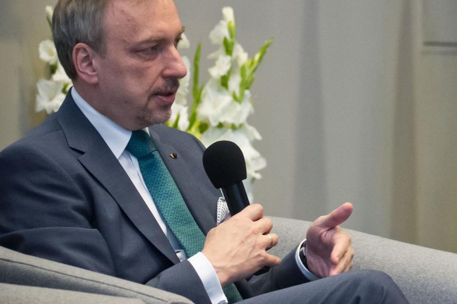 Bogdan Zdrojewski udzielił poparcia Jackowi Sutrykowi