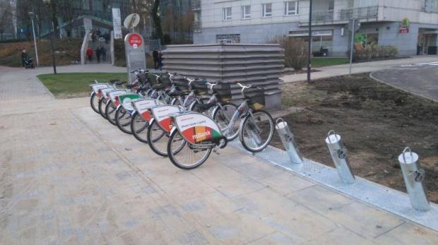Warszawa, rowery miejskie: Rusza kolejny sezon Veturilo