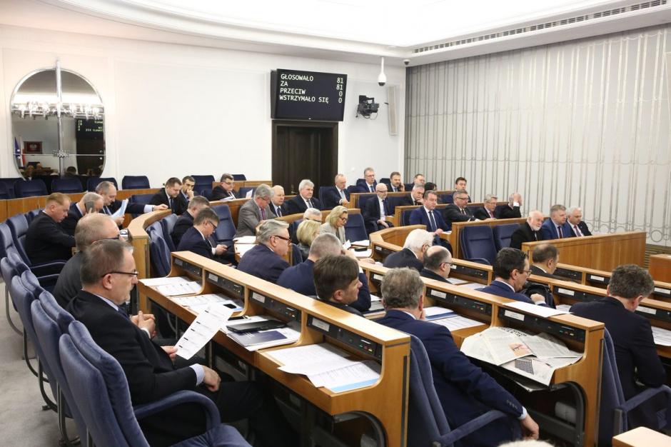 Senat w przyszłym tygodniu zajmie się ustawą o komisji weryfikacyjnej