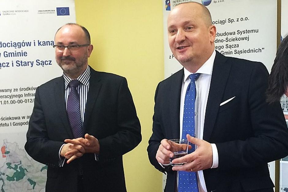 Małopolskie: Zakończyła się największa inwestycja wodno-ściekowa w regionie