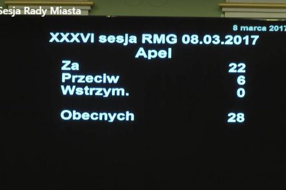 Gdański apel w obronie samorządów przyjęty głosami PO