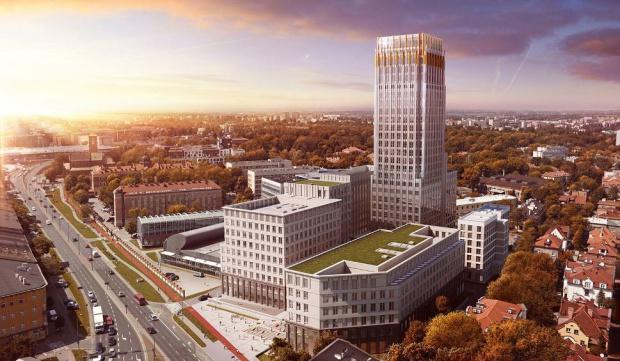 Unity Tower będzie najwyższym budynkiem w Krakowie