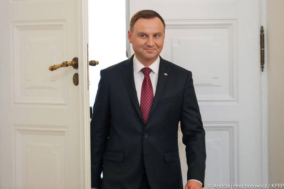 Prezydent Duda rozpoczął wizytę w Siemianowicach Śląskich