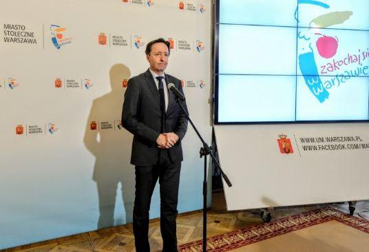 Wiceprezydent Warszawy Witold Pahl (fot.R. Motyl/UM Warszawa)