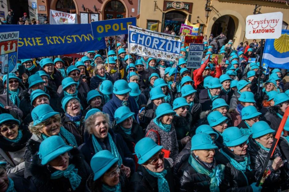 Krystyny w tym roku świętują w Katowicach