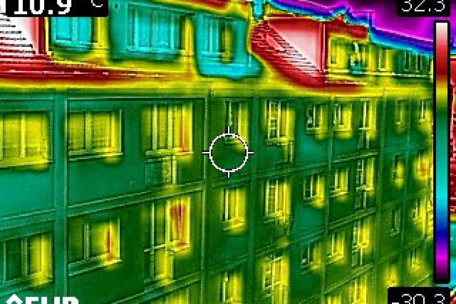 Szczecin: Kamera termowizyjna przyda się przy ocieplaniu budynków