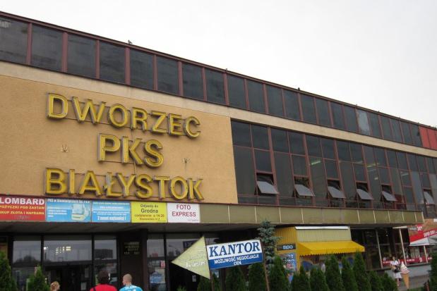 Białystok: Ruszyła rozbiórka starego dworca PKS