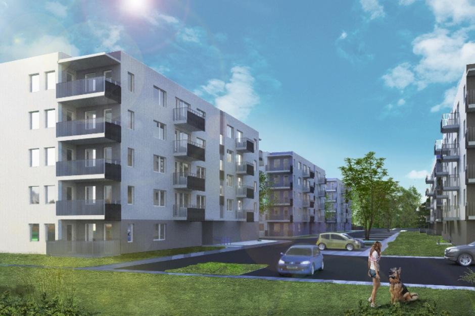 Bank Gospodarstwa Krajowego sfinansuje inwestycję TBS Dombud - 165 niedrogich mieszkań czynszowych powstanie w Rudzie Śląskiej.