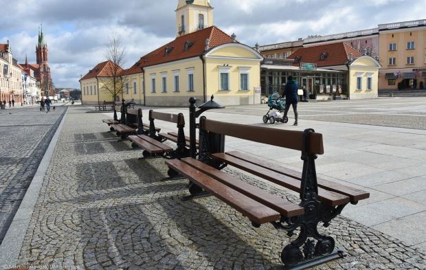 Sprytne ławki w Białymstoku
