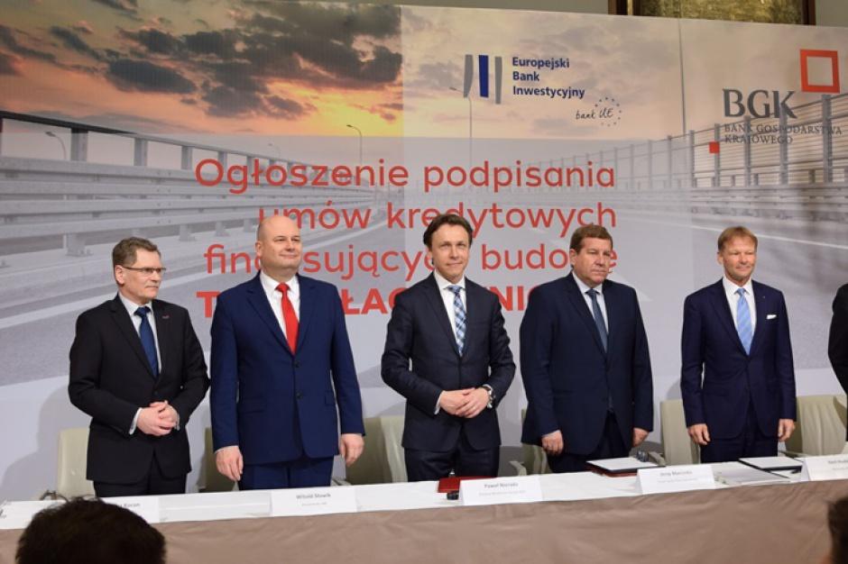 Kraków, Trasa Łagiewnicka: EBI i BGK finansują budowę w ramach planu Junckera