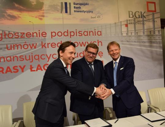 Podpisanie umowy (fot.mat.prasowe BGK)