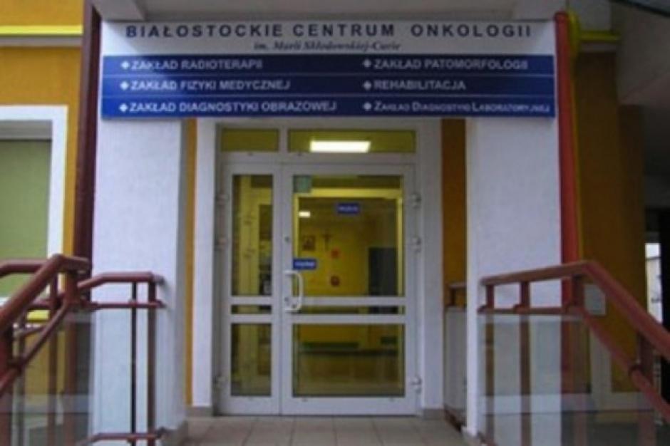 Białostockie Centrum Onkologii z dotacją od województwa