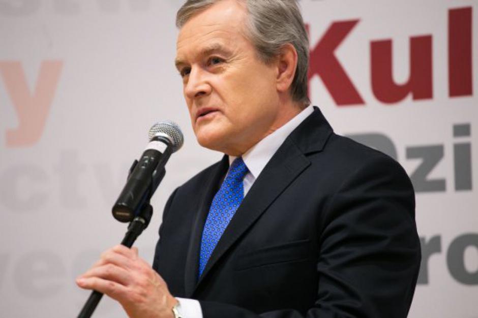 Piotr Gliński: Chcę połączyć instytucje kultury o podobnym charakterze