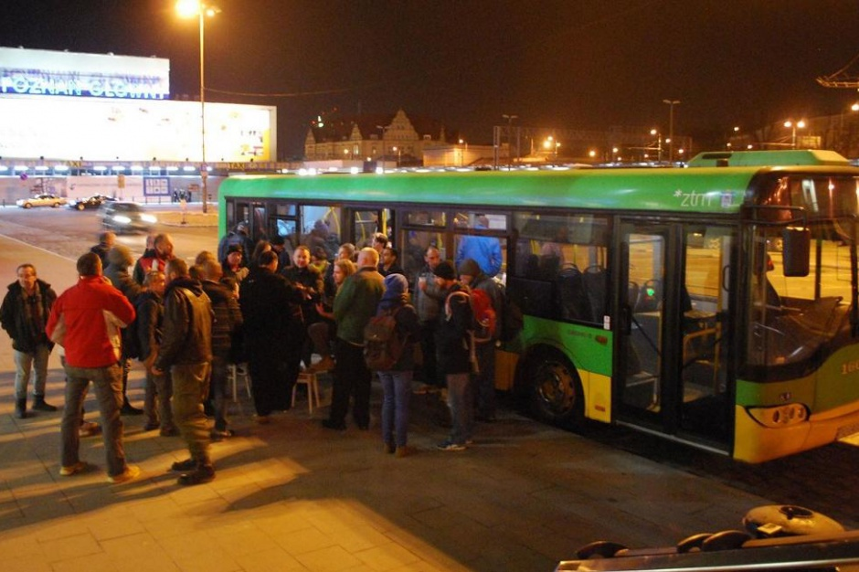 Autobus Pomocy jeździł po Poznaniu