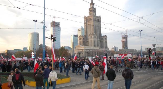 Warszawa jest miejscem częstych demonstracji (fot.wikimedia.org/Wistula)