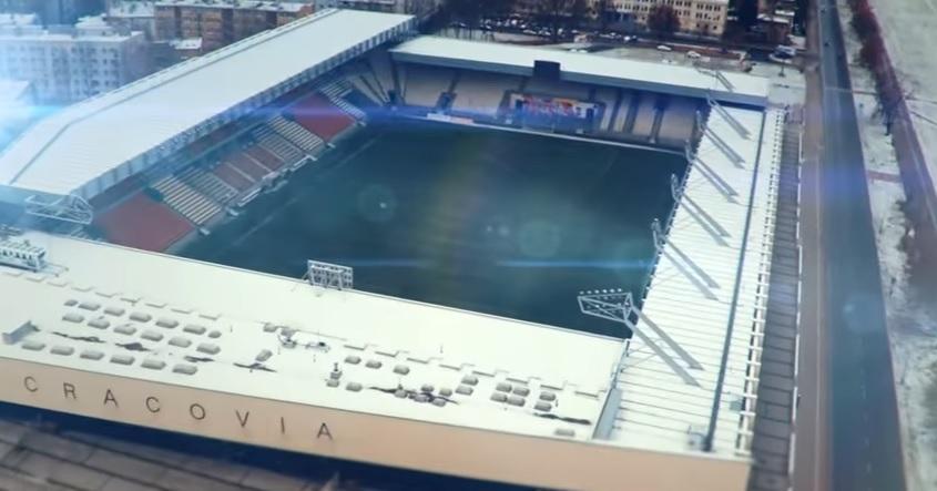Finał turnieju odbędzie się na stadionie Cracovii. (fot. youtube.com)