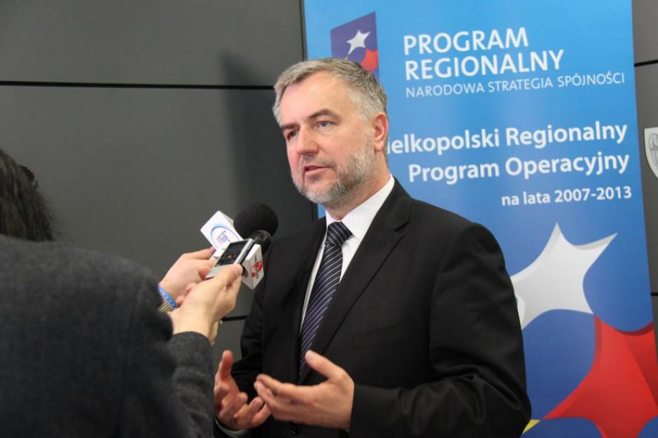 Marszałek Marek Woźniak o WPRO 2007-2013: Jesteśmy w gronie absolutnych liderów