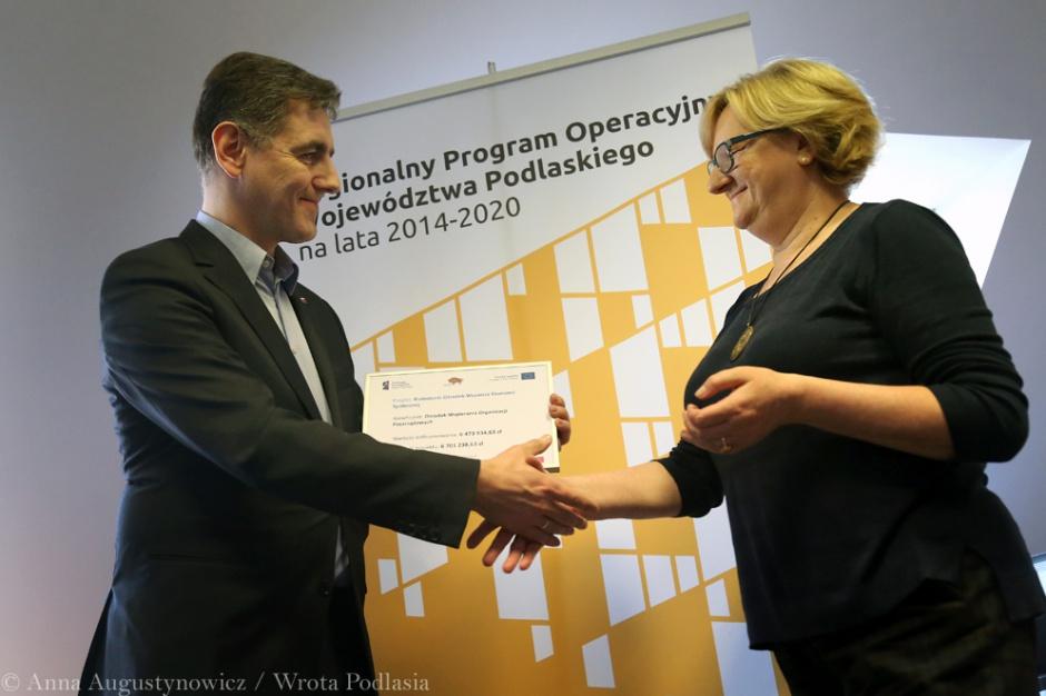Białystok, RPO 2014-2020, ekonomia społeczna: 6,5 mln zł dla osób bezrobotnych i niepełnosprawnych