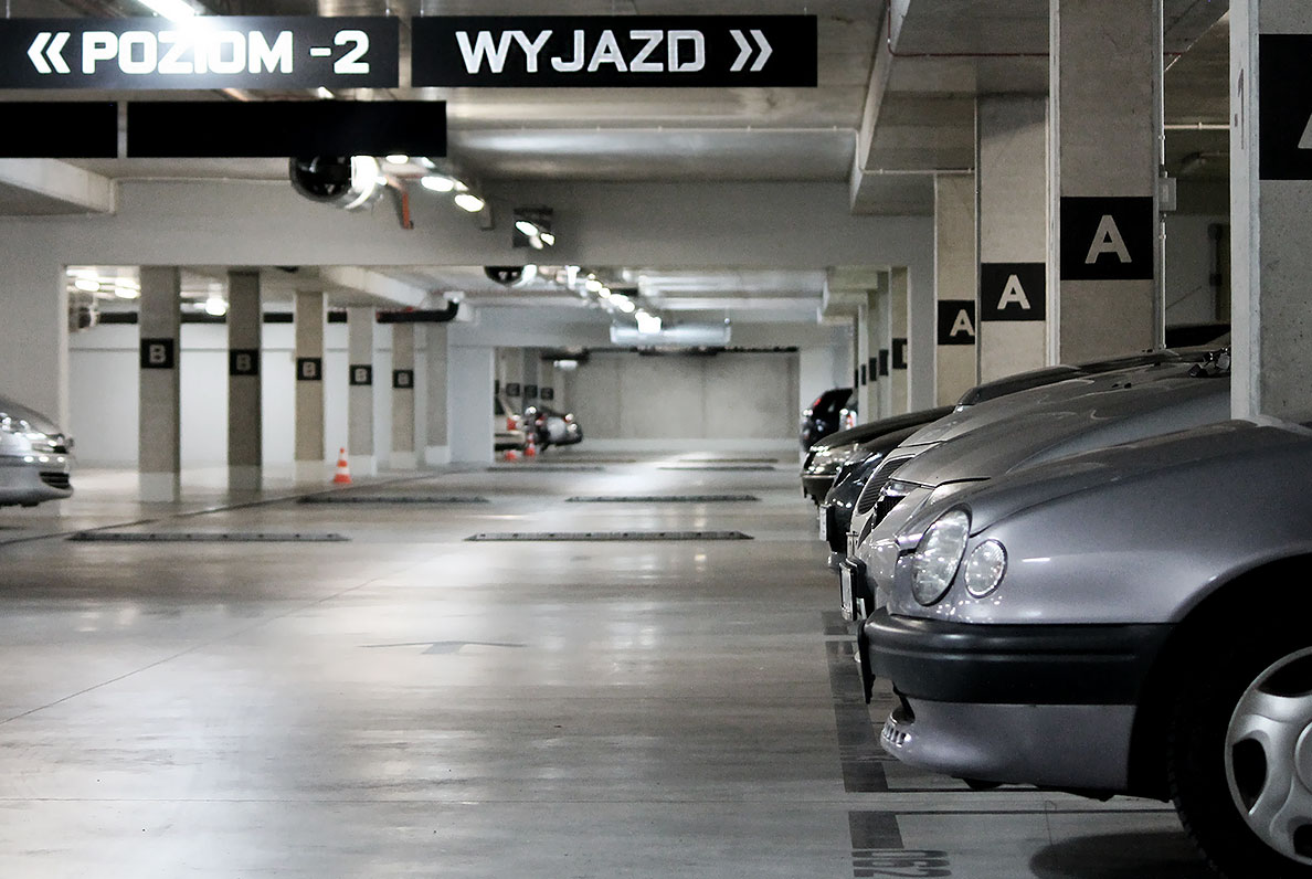 Parking czynny jest przez całą dobę. (fot. Budimex)