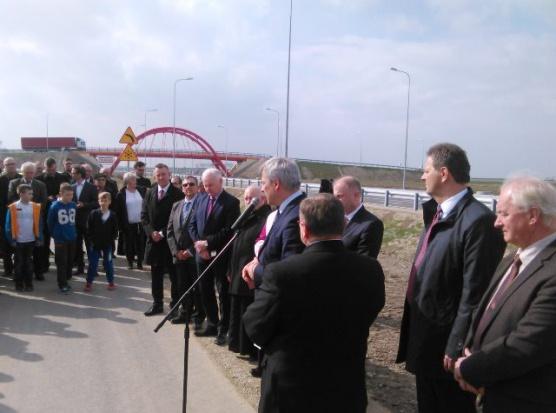 Uroczyste otwarcie obwodnicy (fot.mib.gov.pl)