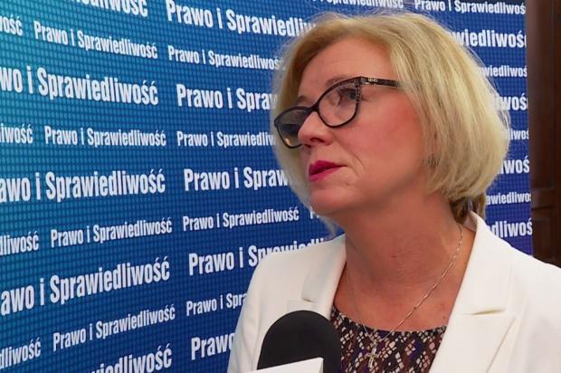 Marzena Machałek o strajku w oświacie: Niektórzy uprawiają tutaj politykę partyjną