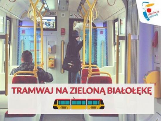"""Warszawa: Tramwaje pojadą na """"zieloną Białołękę"""""""