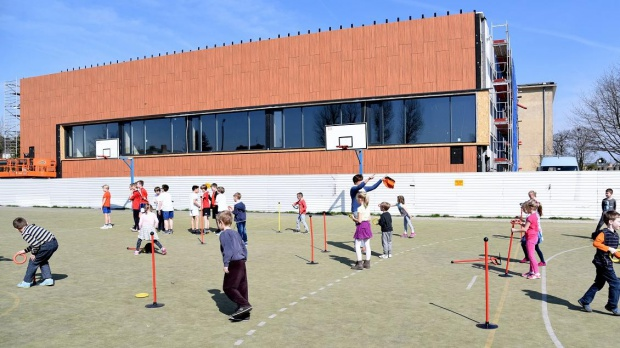 Poznań: Nowoczesna sala gimnastyczna powstaje w szkole na Górczynie