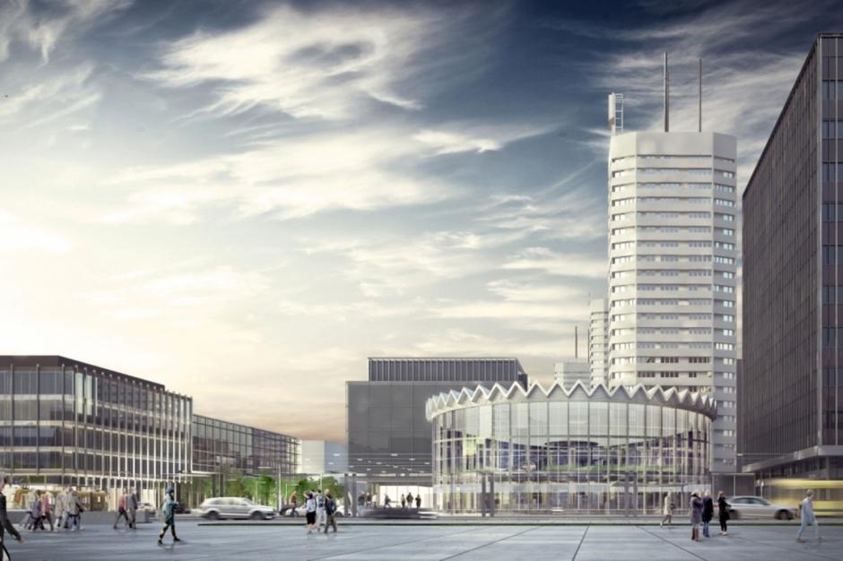 Nowa Rotunda, rewitalizacja: Być może elementy oryginalnej konstrukcji