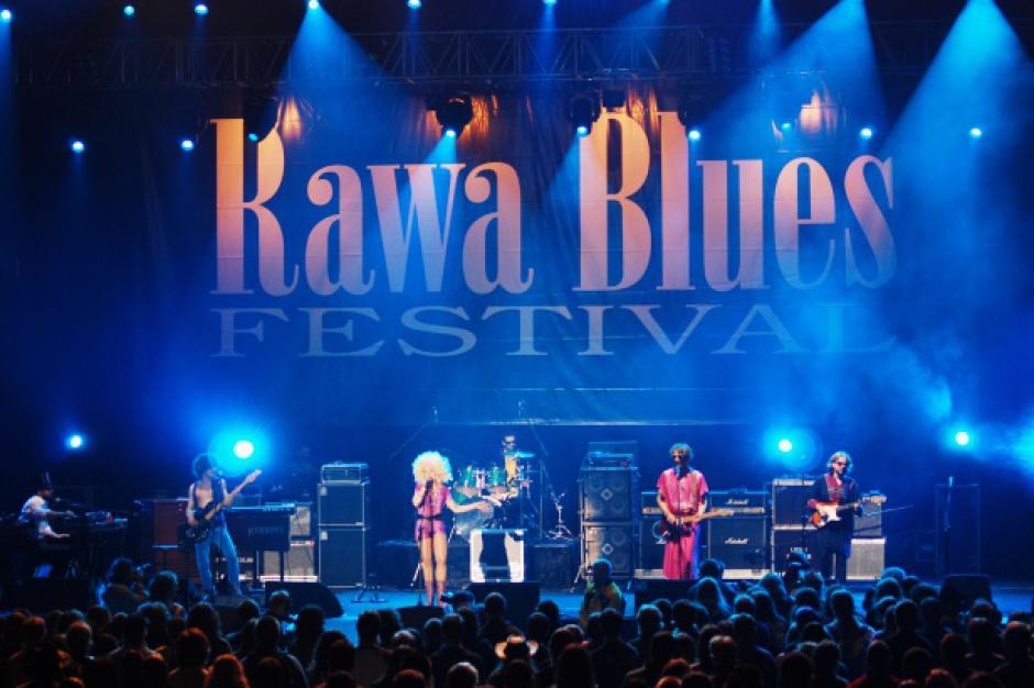 Gwiazdy bluesa jesienią zagrają na 37. Rawa Blues Festival