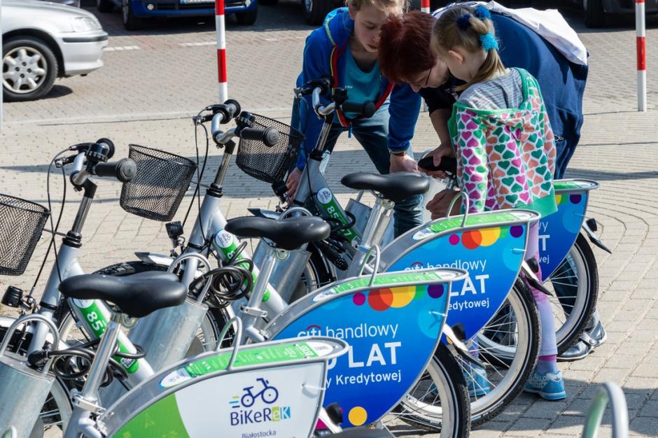 Białystok, rower miejski: Sezon rozpoczęty