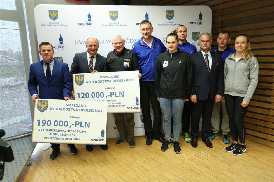 Opolskie przeznaczy 3,5 miliona złotych dla sportowców
