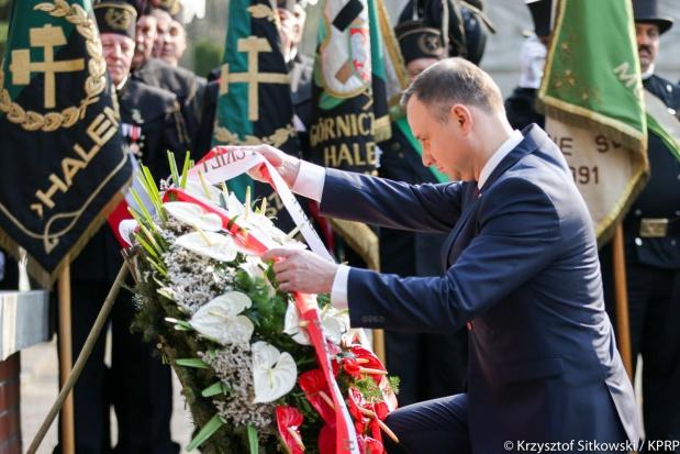 Prezydent Andrzej Duda z wizytą w Rudzie Śląskiej