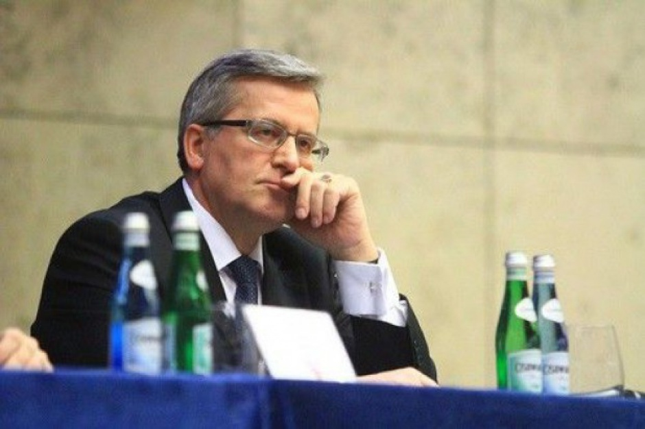 Bronisław Komorowski: Ustawa metropolitalna powinna być dla całej Polski