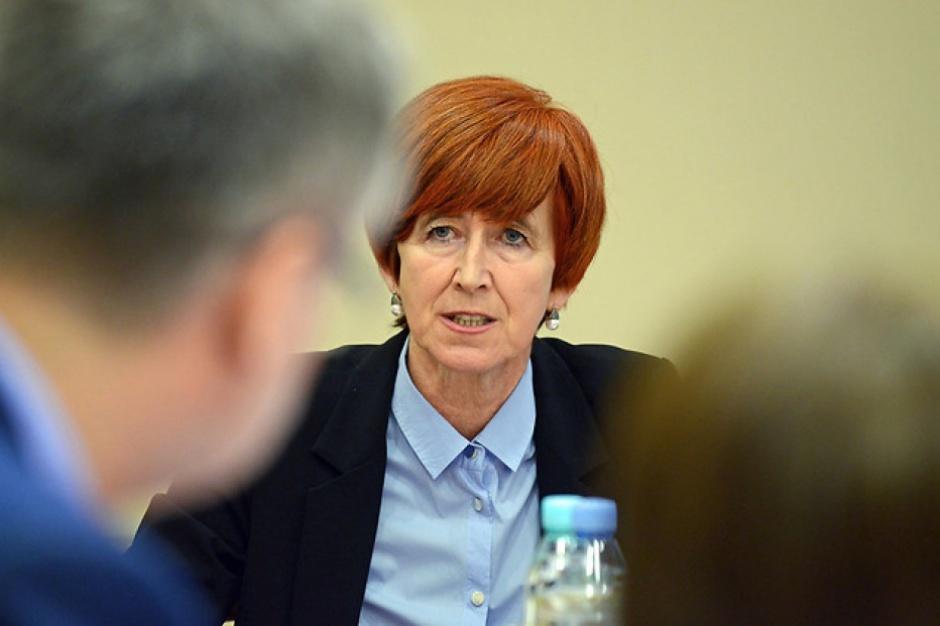 """Elżbieta Rafalska: nie zamierzamy likwidować mechanizmu """"złotówka za złotówkę"""""""