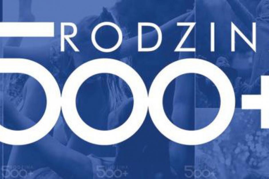 Mazowsze. Ponad 560 tys. dzieci objął przez rok program 500 plus