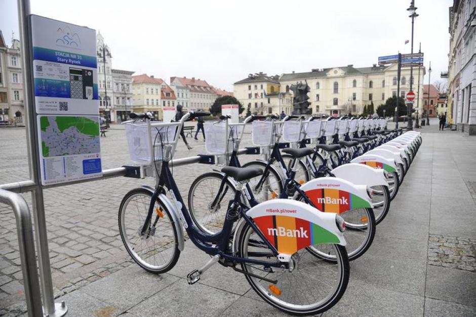 Bydgoszczanie przesiadają się na rower
