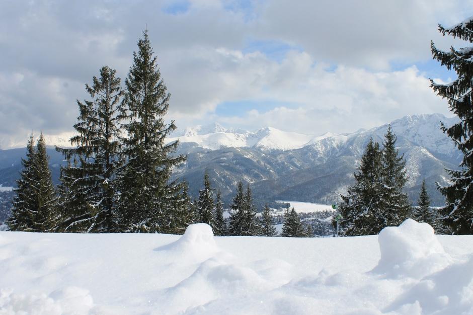 Małopolska: Zima wróciła. W Tatrach spadł śnieg
