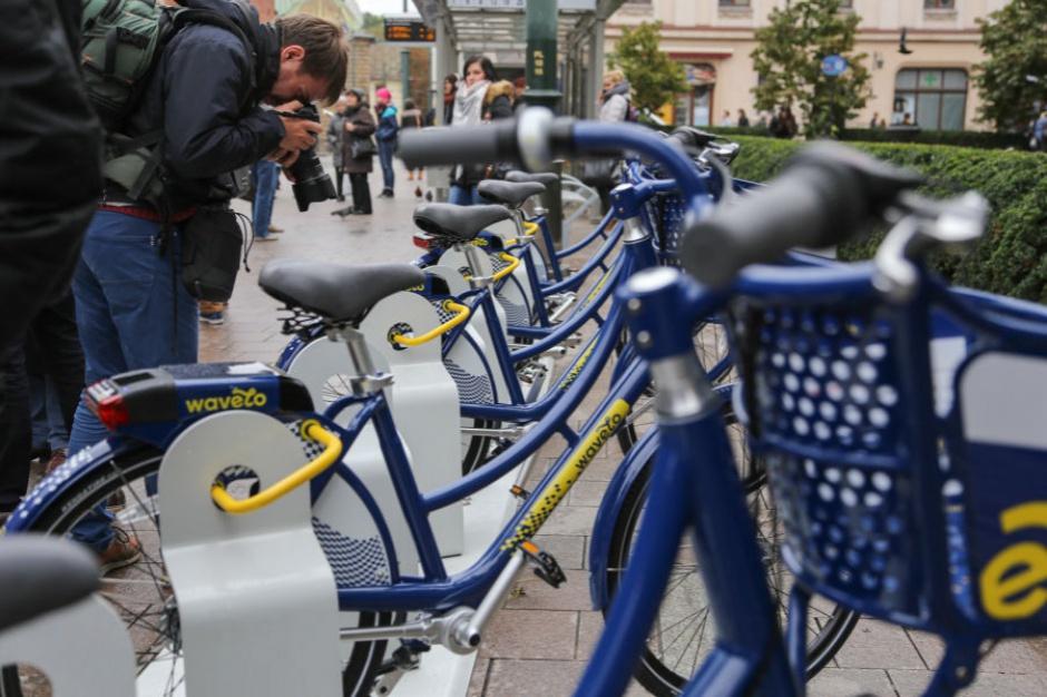 Wavelo, Kraków: W wypożyczalni rowerów miejskich 840 jednośladów
