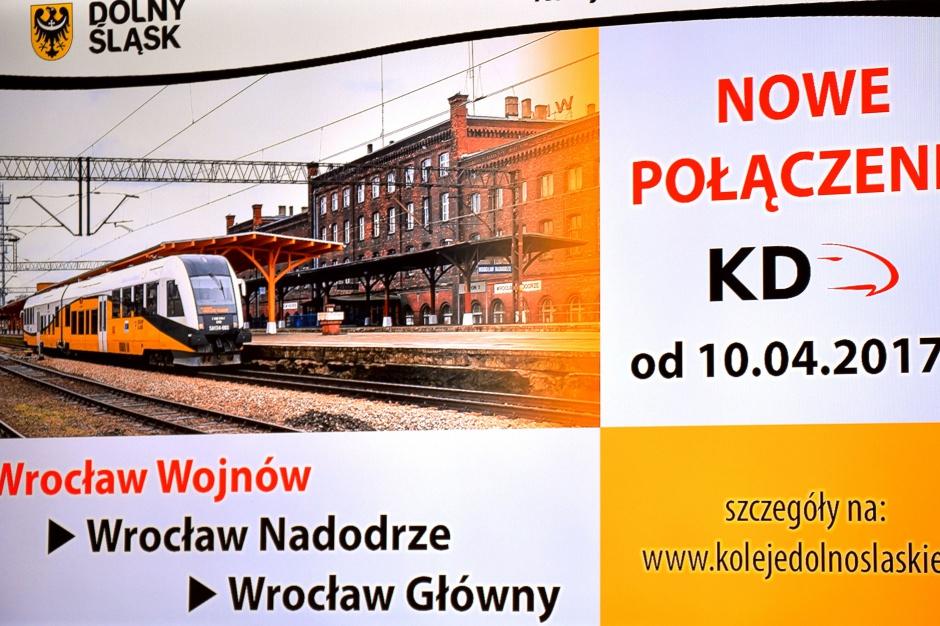 Wrocław: To jest początek kolei miejskiej